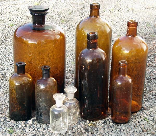 Gamla flaskor